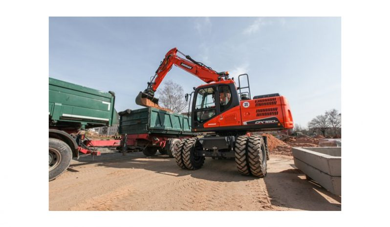 Doosan DX160W-5 vol
