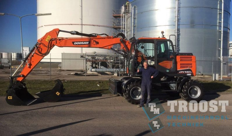 Doosan DX140W-5 vol
