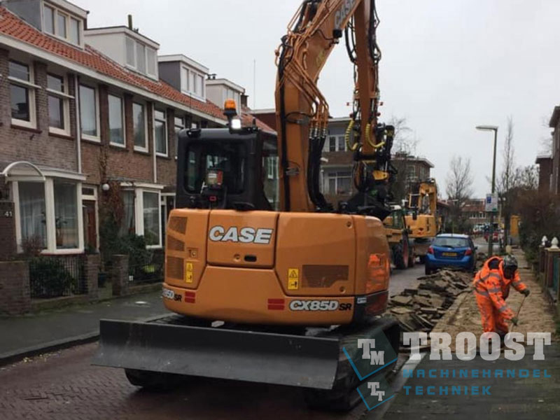 Nieuwe Case CX85D Klootwijk