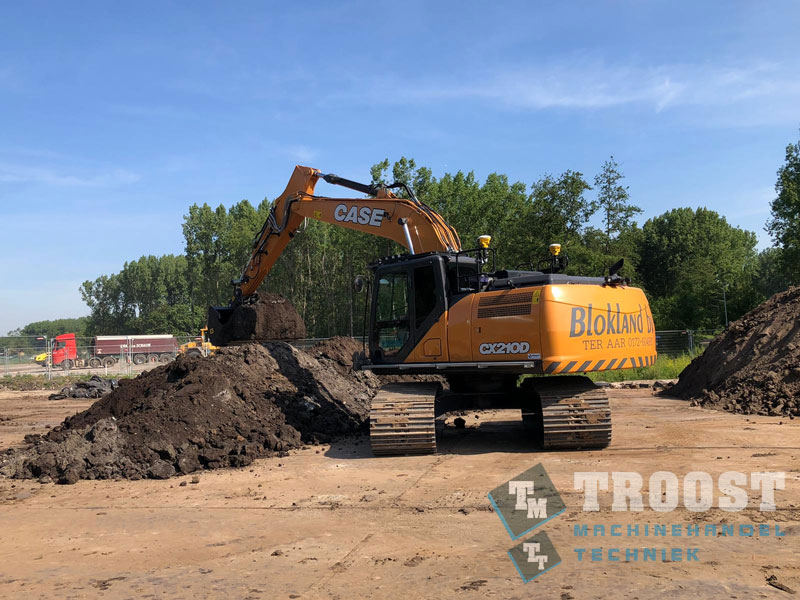 Nieuwe CASE CX210D Blokland