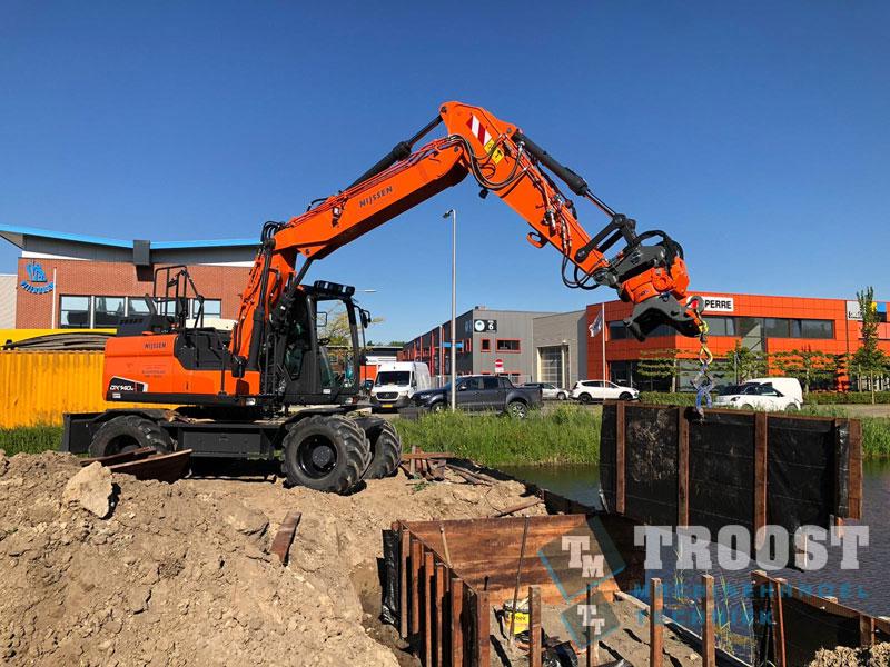 Nieuwe DX140W-5 Nijssen