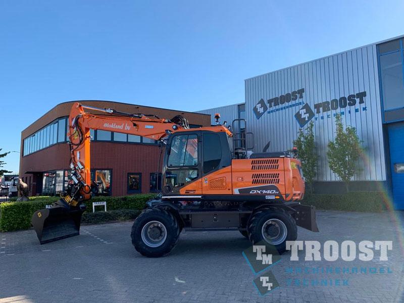 Nieuwe Doosan DX140-W Blokland