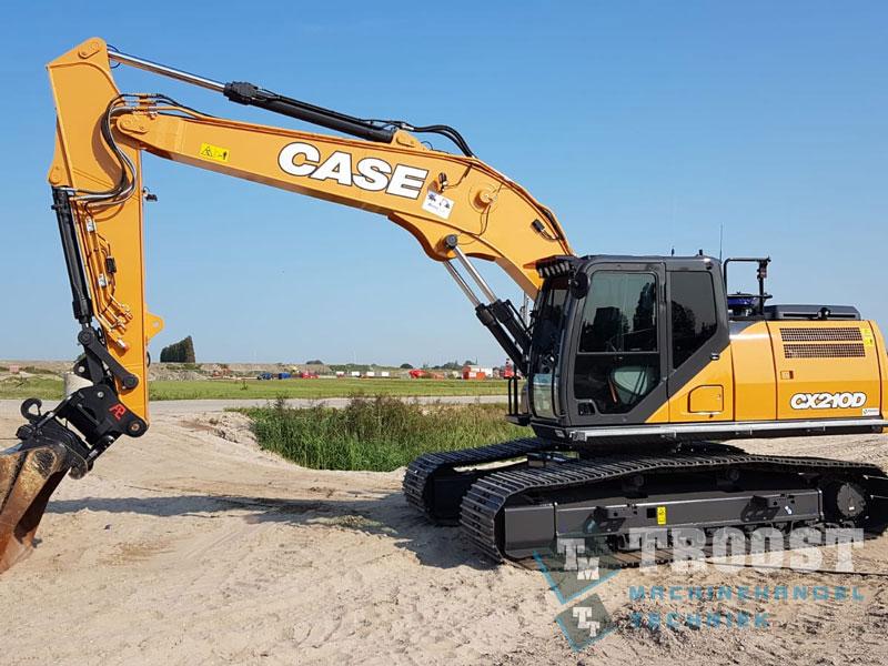 Nieuwe CX210D AJ Boer