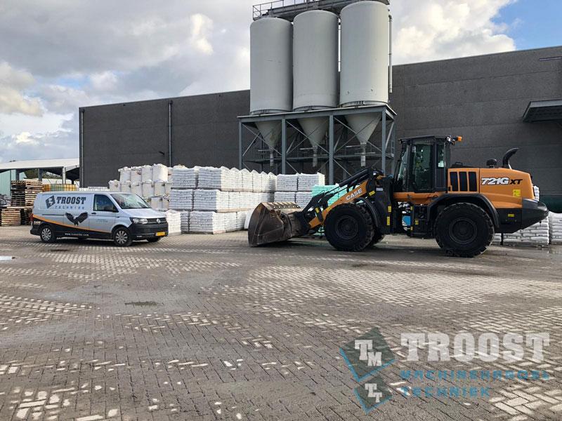 Nieuwe CASE Shovel Bulk Terminal Moerdijk