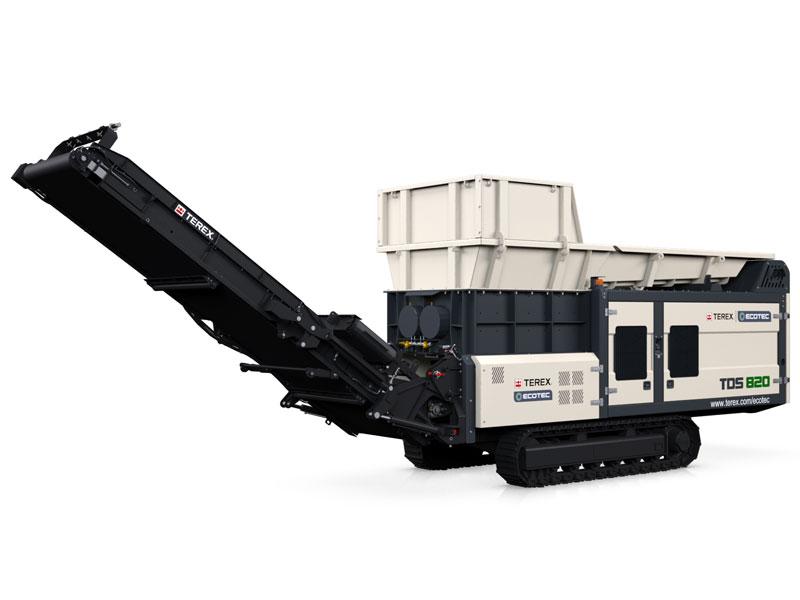 Ecotec shredders TDS 820