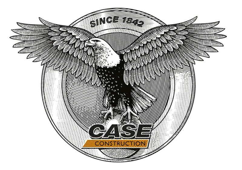 CASE Logo adelaar