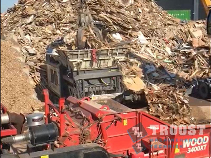 Demo Terex Ecotec shredder